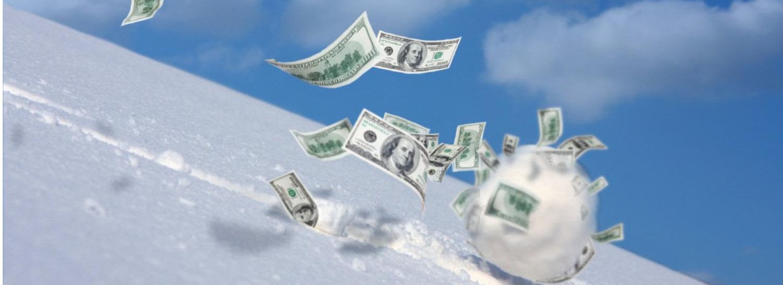 rolling snowball accumulating etfs