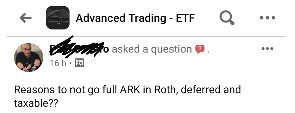 risk of arkk etfs